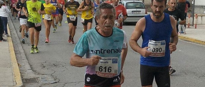 Andrés Pérez Prieto Corriendo una maratón