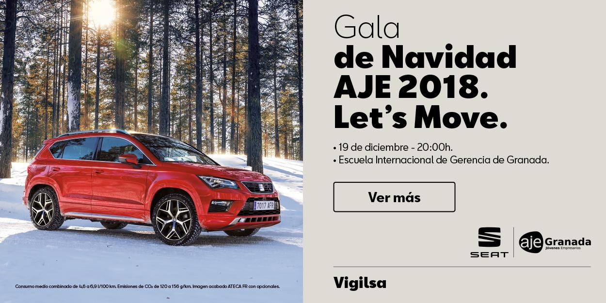 Próxima Gala Navidad Jóvenes Empresarios Granada