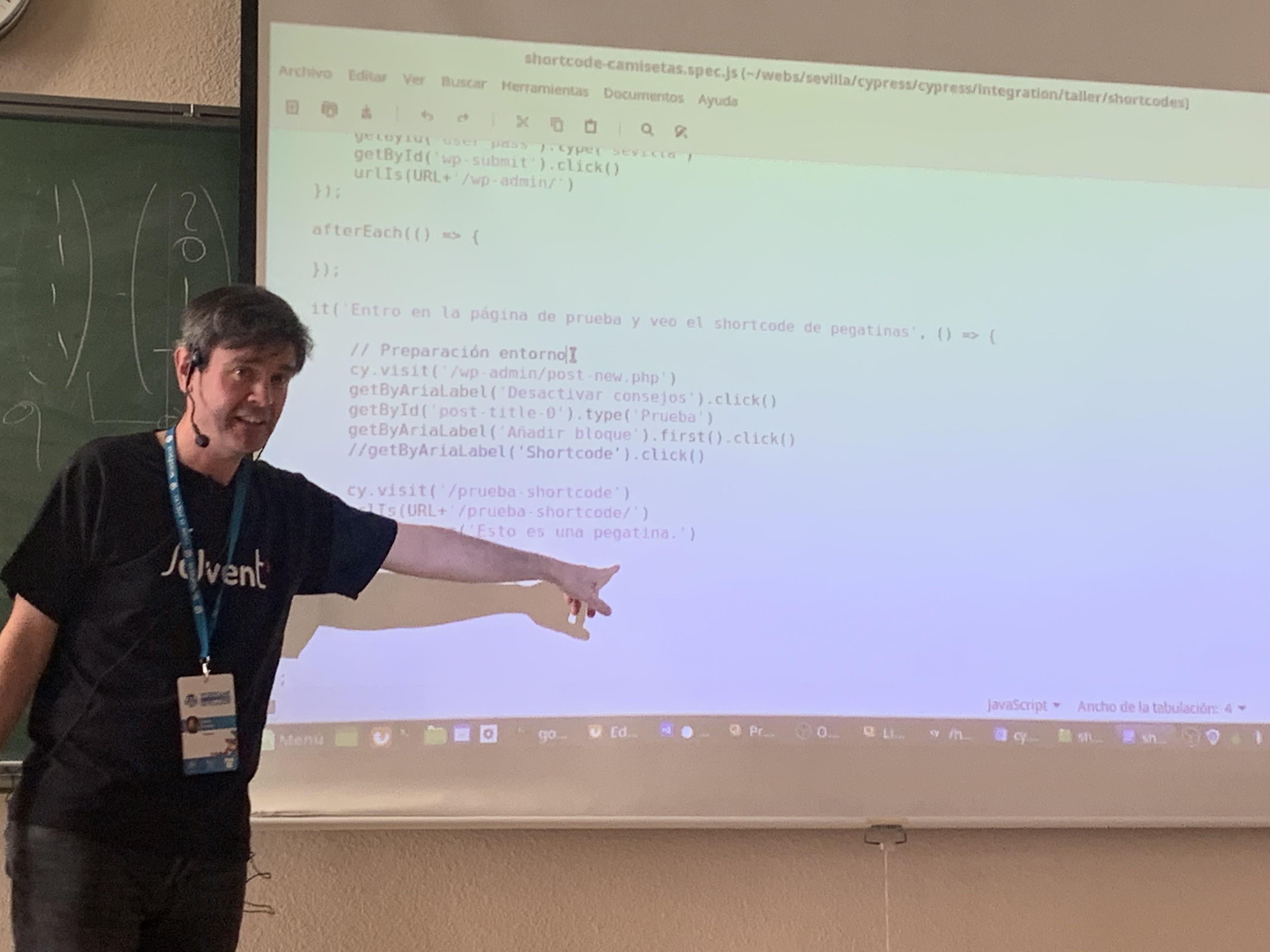 WordCamp Sevilla para desarrolladores – Día 1 Talleres