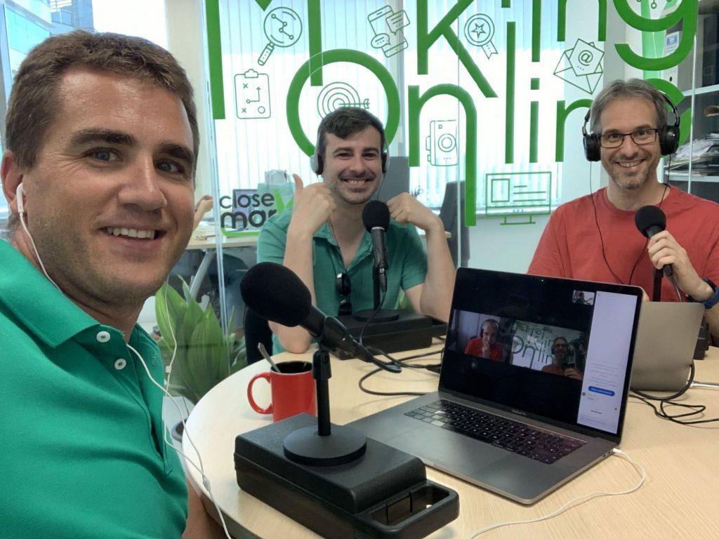 podcast caminando wordcamp granada juanka y javier