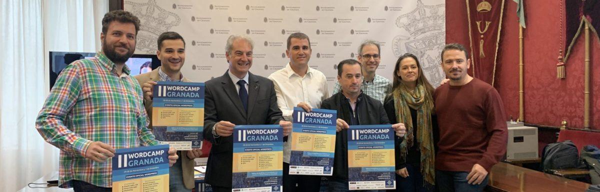Presentando la WordCamp Granada 2019