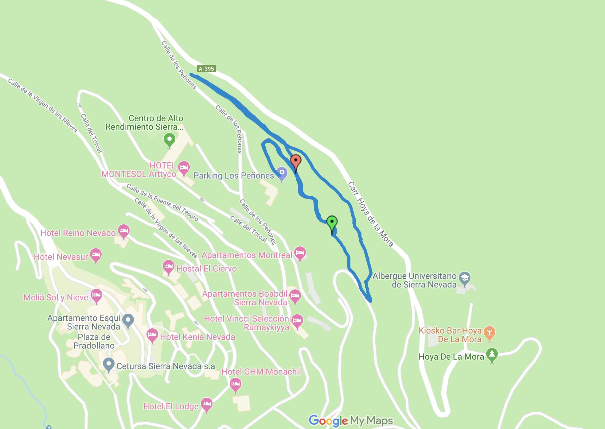 Circuito de Esquí de fondo de Don Andrés Pérez Prieto